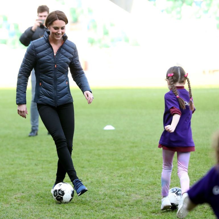 """Princesha futboll me fëmijët e zakonshëm irlandezë, """"mora leksione të vlefshme për djalin tim"""""""