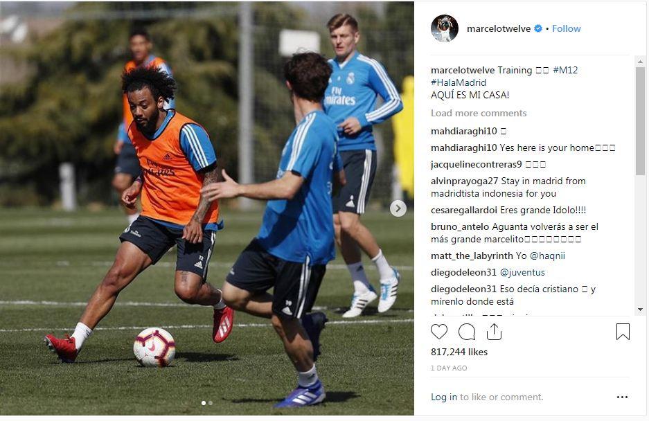 E kërkon me ngulm Juve, Marcelo vendos për të ardhmen e tij