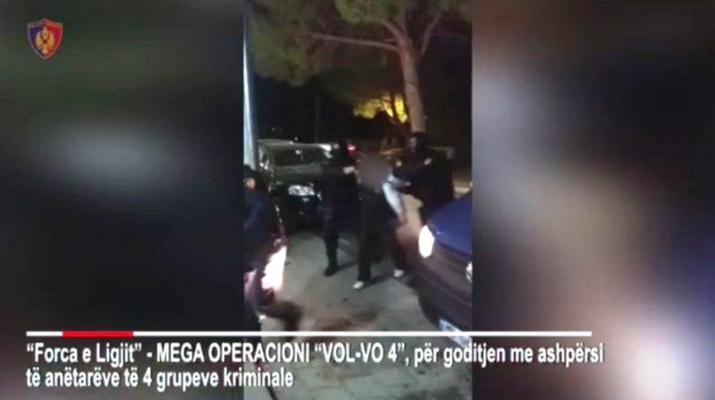 """Del """"blof"""" operacioni i madh """"Vol-vo 4"""", lihen të lirë edhe dy të arrestuar"""