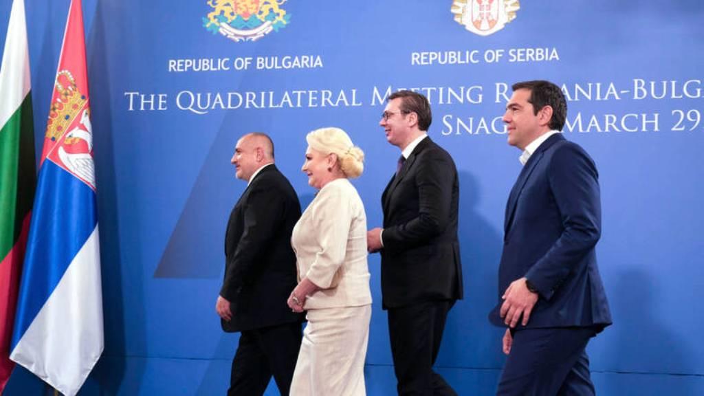 Tsipras nga Bukureshti: Integrimi i Shqipërisë në BE është në rrezik