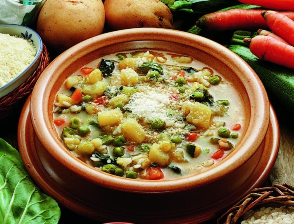 Supë me perime mikse