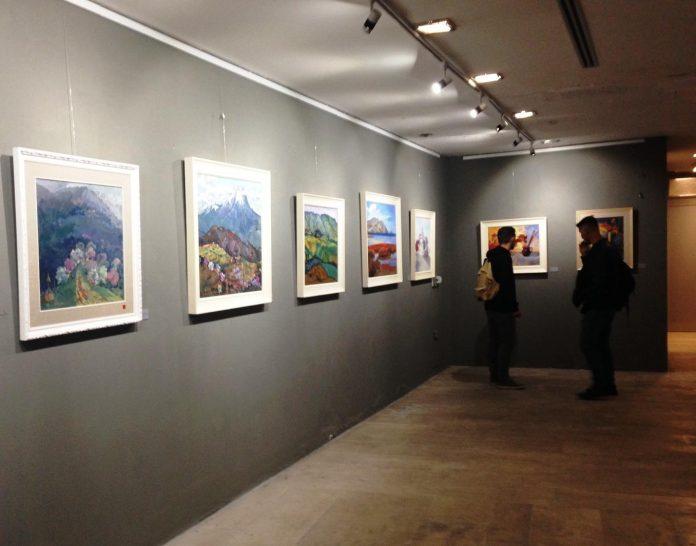 Ekspozita, 44 tablo me peizazhe nga Vermoshi në Kolonjë