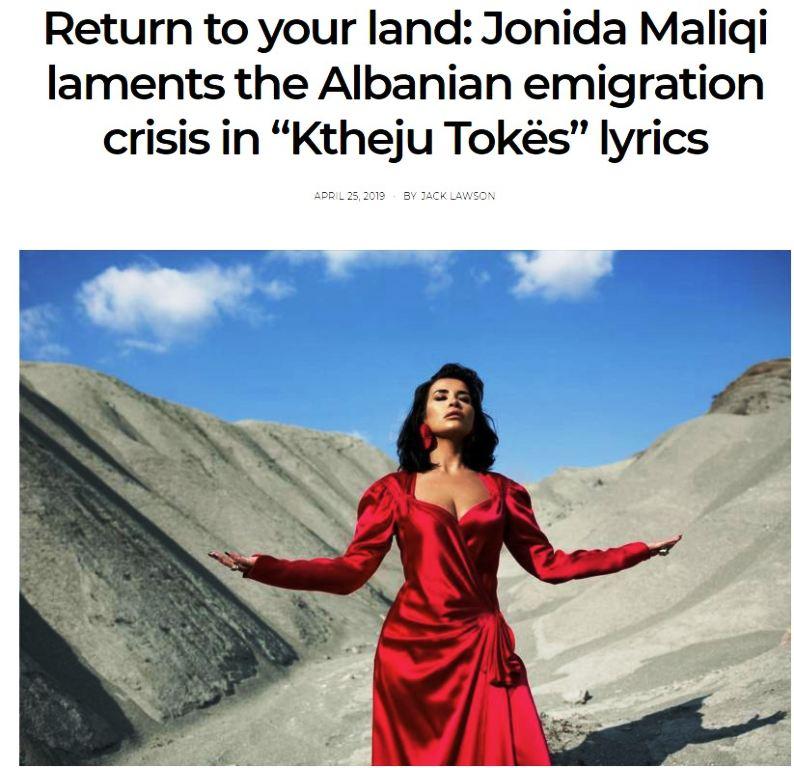 """""""Eurosong"""": Kënga e Shqipërisë, dhimbje për emigrimin"""