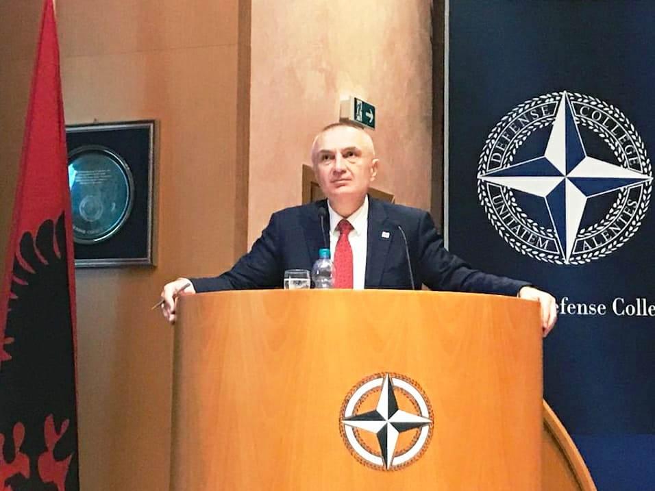 Në Kolegjin e NATO-s, Meta: Shqipëria partner i besueshëm, lider në nismat për rritjen e besimit mes vendeve të rajonit