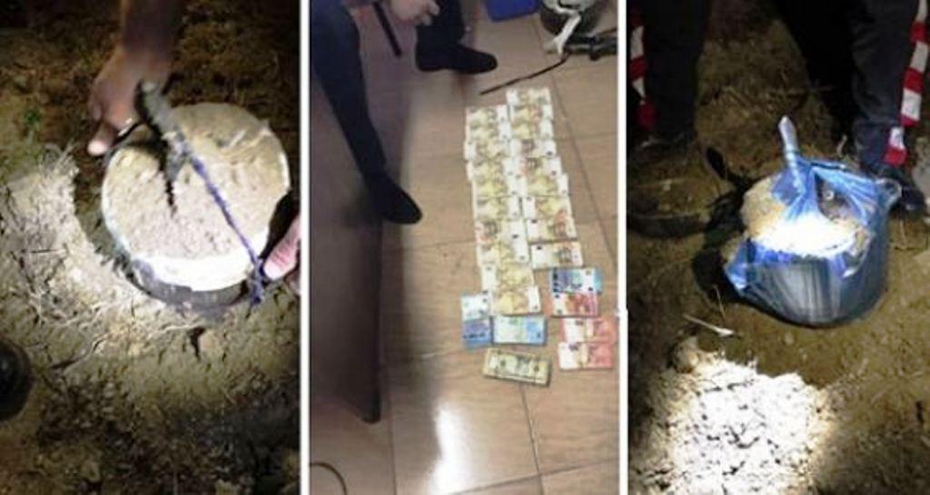 Grabitja në Rinas/ Policia nis kërkimin me detektor të tenxhereve të groposura ku mendohet se janë fshehur paratë