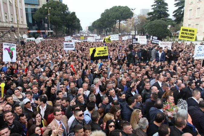 Sot protesta e re opozitare, 1700 policë vihen në gatishmëri