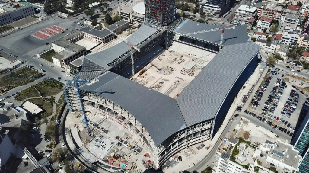 """Vizita e papritur! Rama inspekton punimet në """"Arena Kombëtare"""", Duka: Stadiumi, gati në qershor!"""