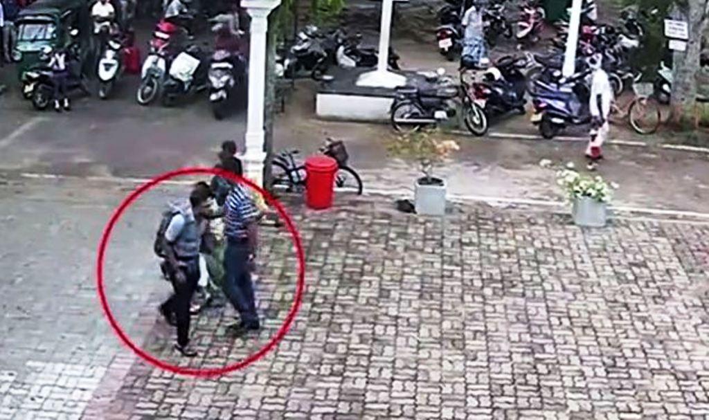 Vodeo/Kamerat kanë fiksuar një nga personat e sulmit vetëvrasës në Sri Lanka