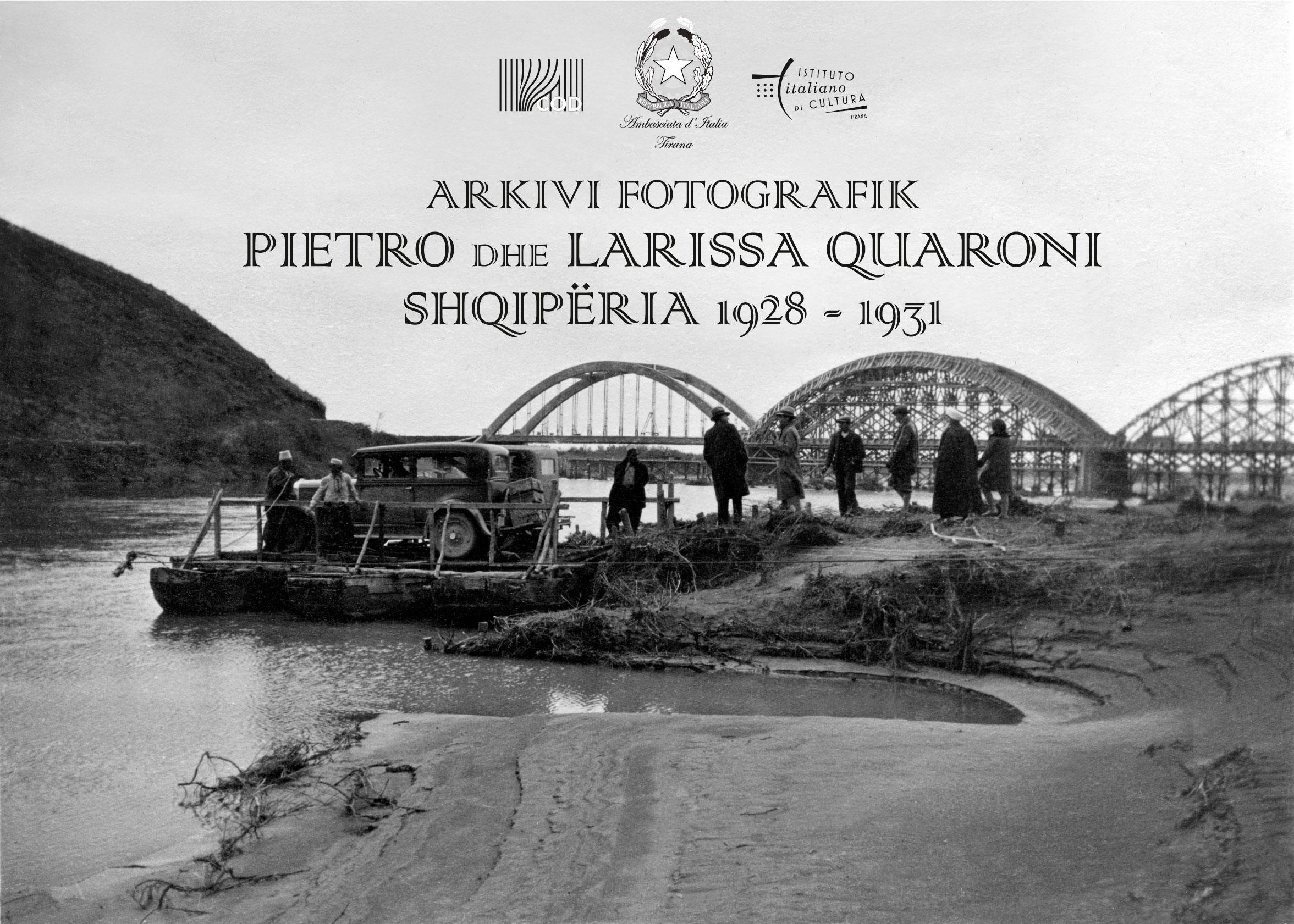 Ekspozitë në COD e Arkivit Fotografik të Pietro e Larissa Quaroni – Shqipëri 1928-1931