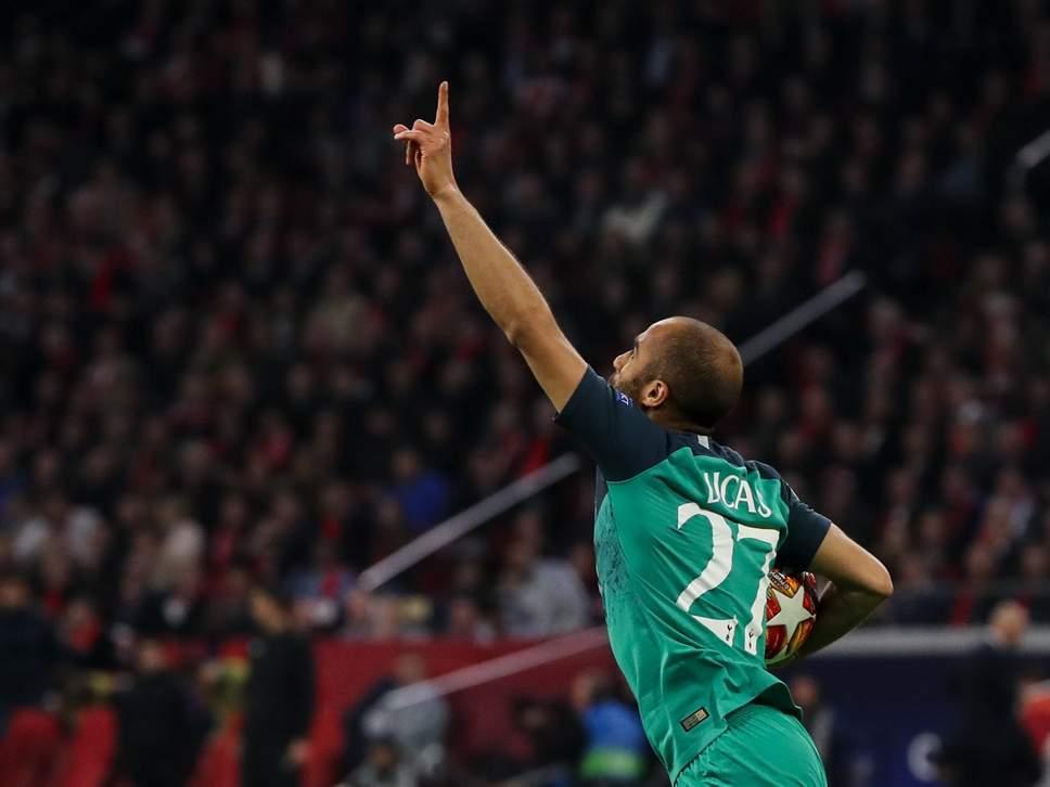 """CHAMPIONS/ Në Hollandë ndodh e pabesueshmja, """"magjia"""" Lucas dërgon në finale Tottenham"""