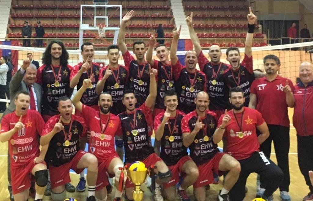 """Korçë, Vllaznia fiton finalen """"e ringjalljes"""" së volejbollit"""