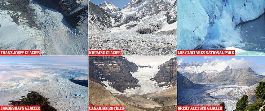 Akullnajat, studimi: Në rrezik zhdukjeje gjysma e bukurive të natyrës prej ngrohjes globale