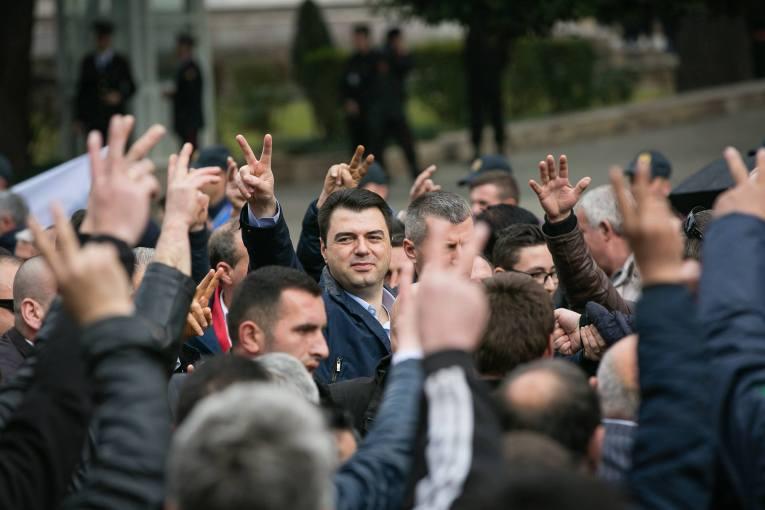 """""""Për Shqipërinë si Europa"""", PD marshon sot në 18:30 kundër Ramës kryeministër"""