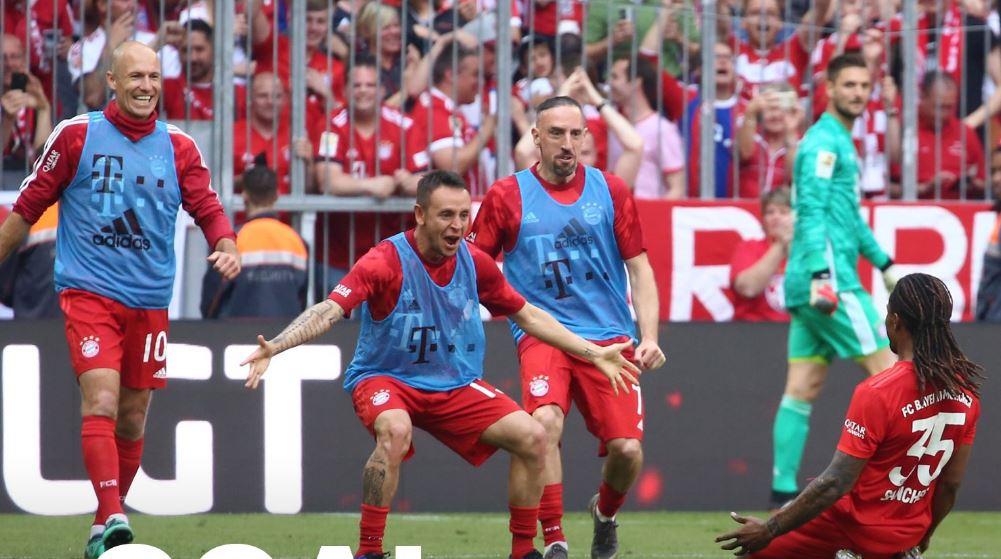 """Bayern nuk njeh konkurrent, ngre """"kurorën"""" e Bundesligës për të 7-in vit rradhazi"""