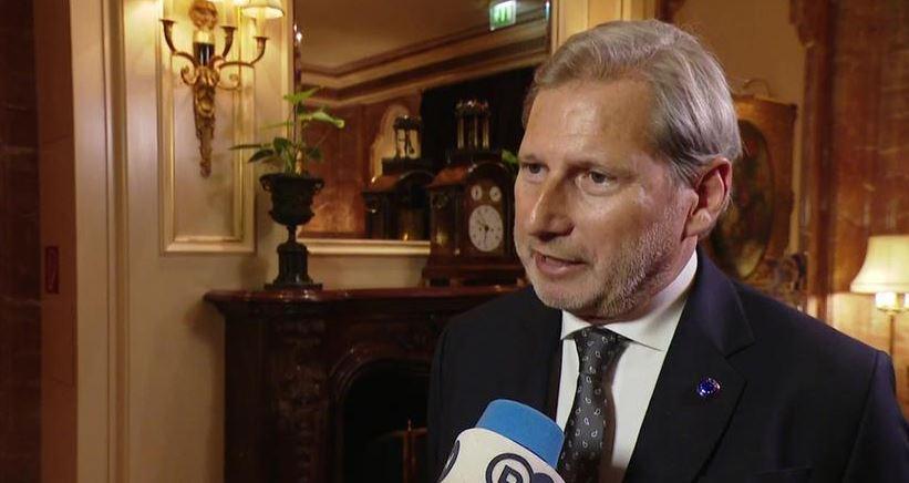 """Komisioneri Hahn me nota """"pesimizmi"""" për negociata: Një pamje flet më shumë se njëmijë fjalë"""