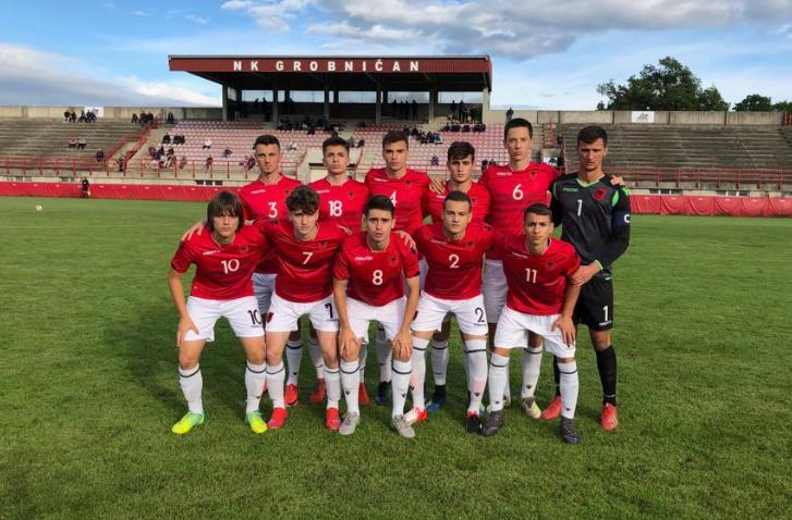 Shqipëria U-18 tjetër fitore, kalon në gjysmëfinale