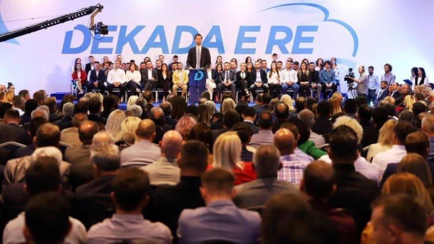 Nënkryetari i PDK-së, Uran Ismaili zyrtarizon kandidaturën në Prishtinë