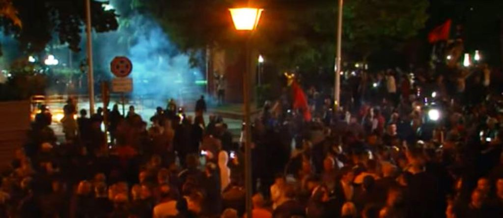 Situation in Albania becomes tense following violent clashes between opposition and riot police