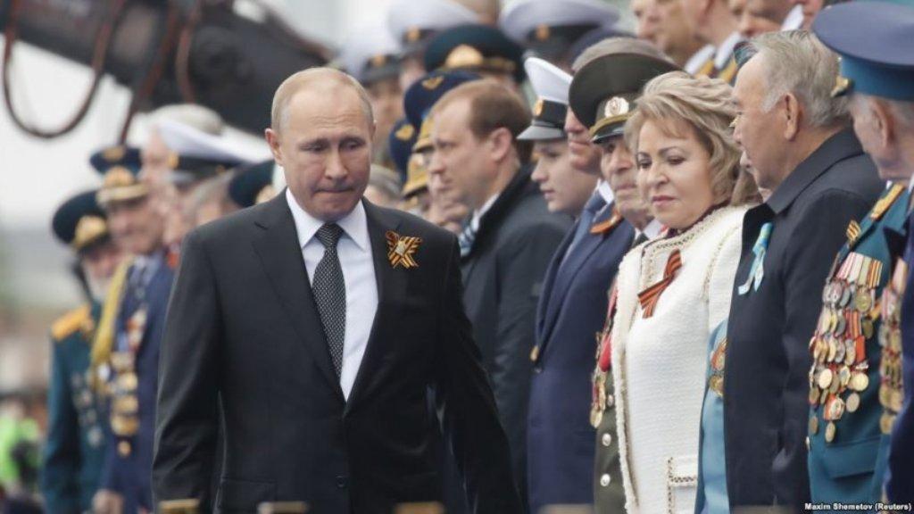 Rusia përkujtoi 74-vjetorin e fitores së aleatëve mbi Gjermaninë naziste