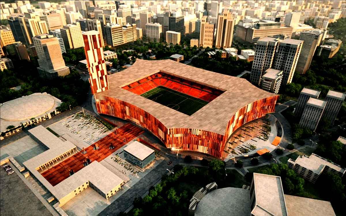 """Stadiumi """"Arena Kombëtare"""" në përfundim, por çfarë e pengon mbylljen e projektit"""