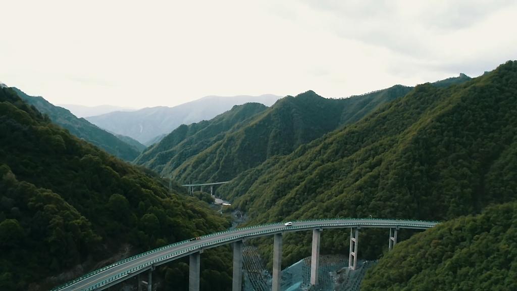 """Nuk duhej prerë asnjë pemë në parkun Kombëtar! Kina e ndërton autostradën në """"ajër"""" (Foto)"""