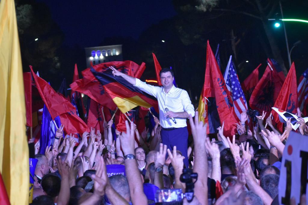 Protesta e PD-LSI, Basha: Largimi i Ramës është i panegociueshëm!