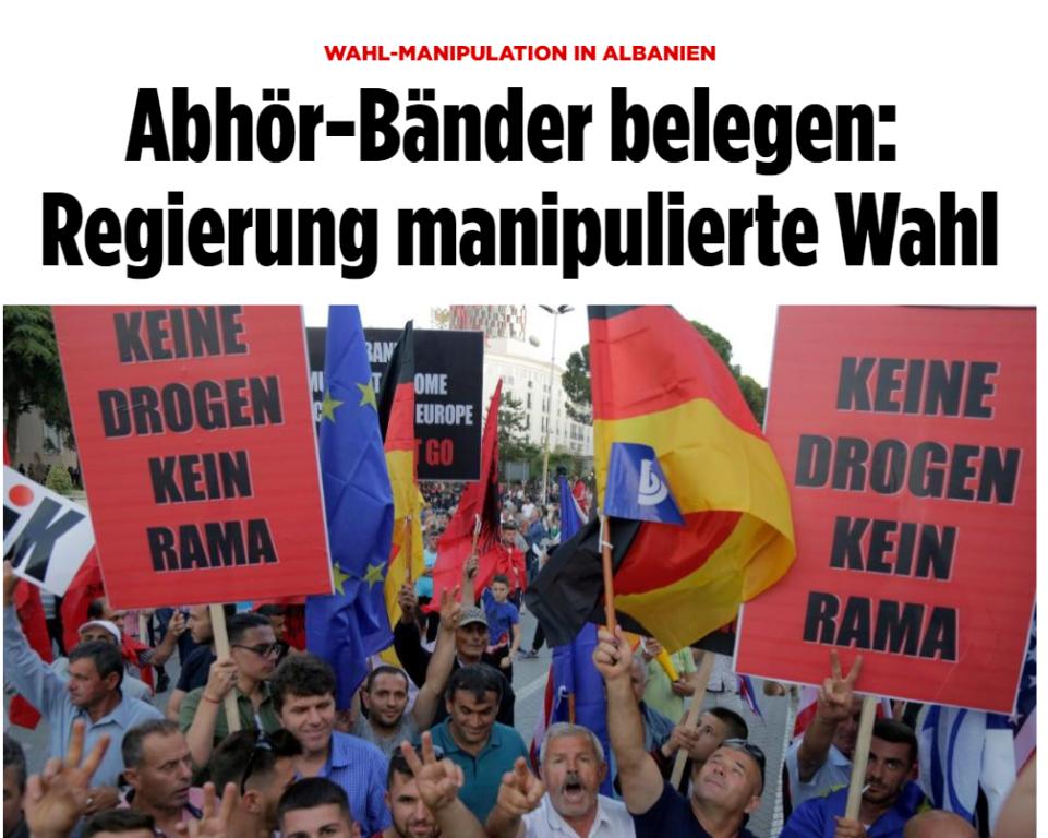BILD/Zgjedhjet në Shqipëri, përgjimet dëshmojnë: Skema sesi Qeveria i manipuloi ato!