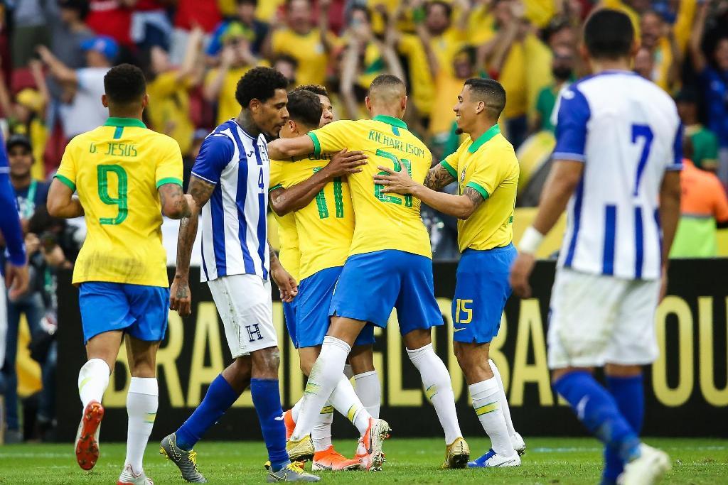 """""""Tërmet"""" 7-ballësh, Brazili shpartallon Hondurasin"""
