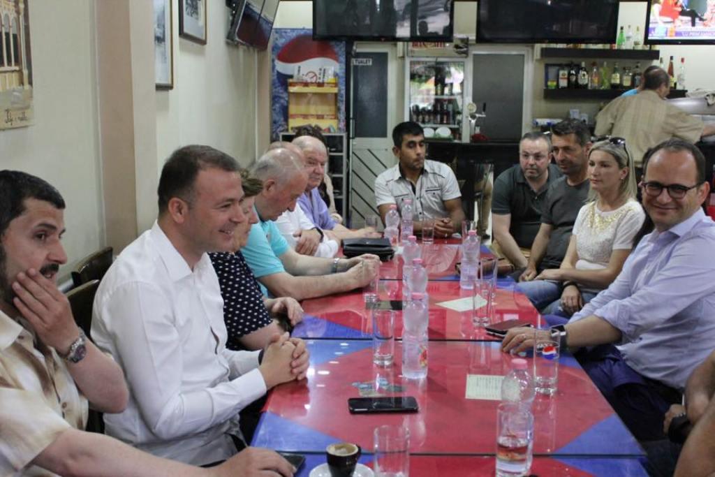 """""""Projekte transformuese për bashkinë që duam!"""" Ditmir Bushati vazhdon i qetë fushatën në Shkodër"""
