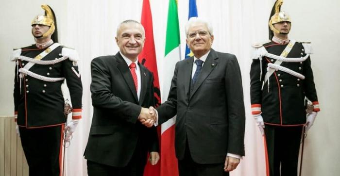 Presidenti Meta uron homologun italian për Festën e Republikës