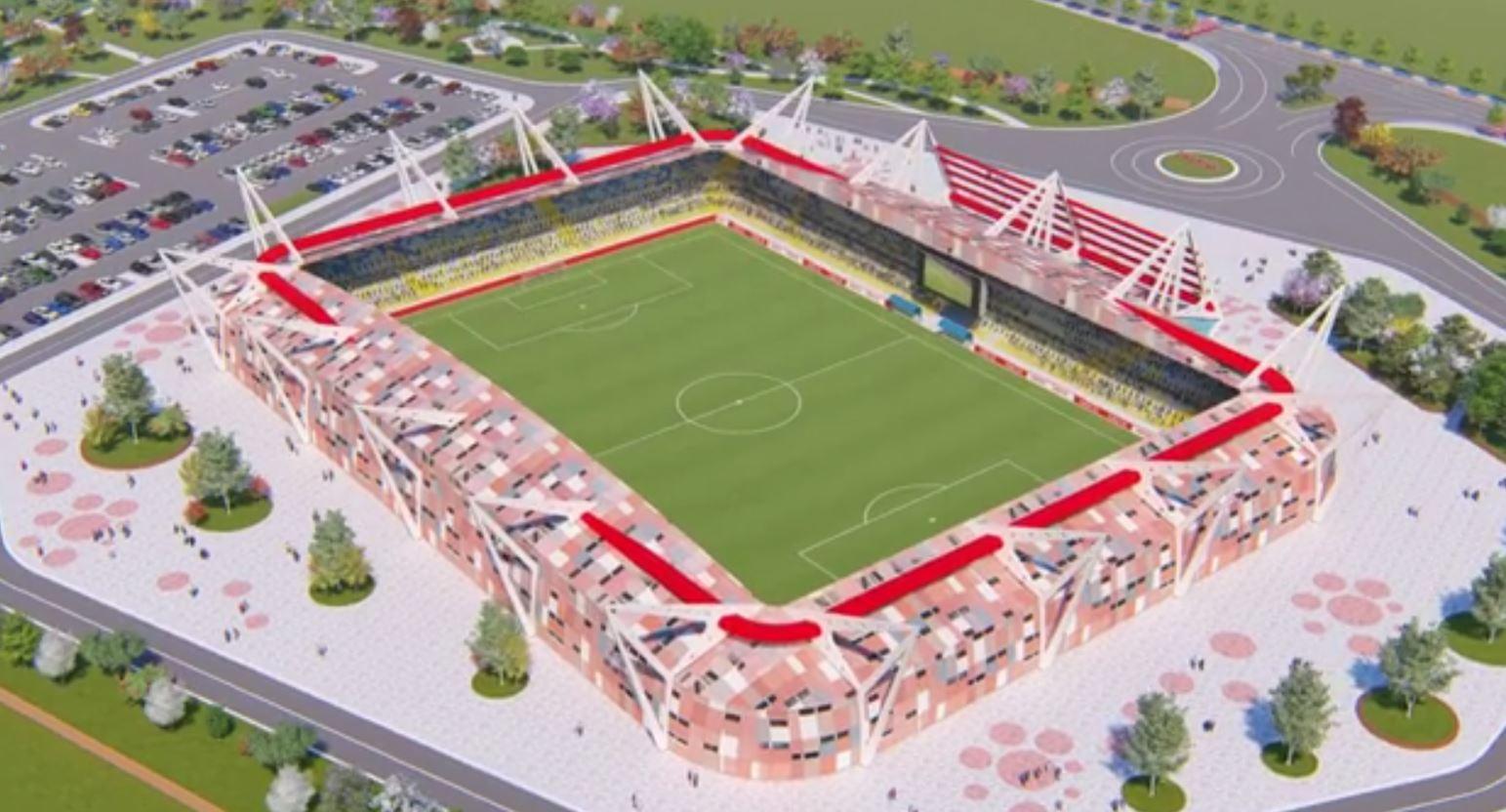 Fieri me stadium të ri, ja projekti