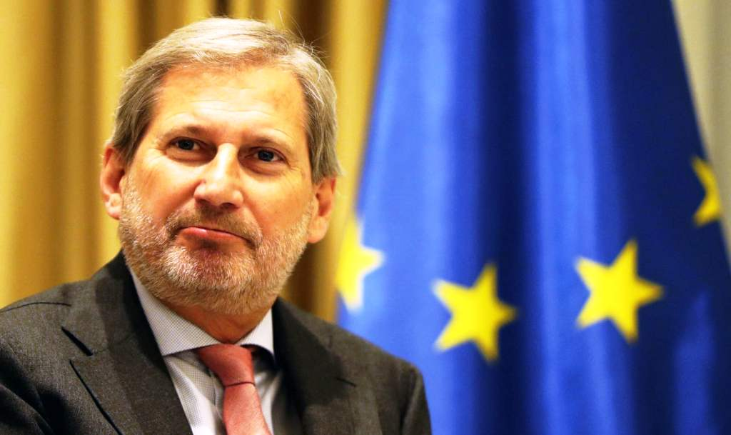 EU commissioner Hahn hopeful about the opening of accession talks with Albania in October