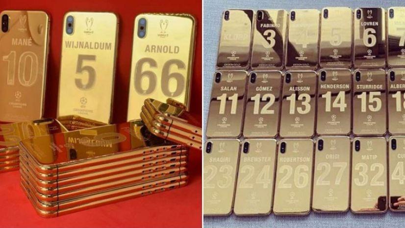 Fitoi UEFA Champions League, Liverpool shpërblehet me iPhone XS të artë