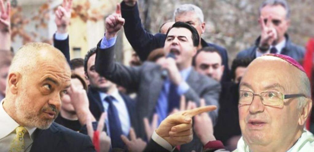 Imzot Fredo apel krerëve të politikës: Duajeni Shqipërinë më shumë se partinë