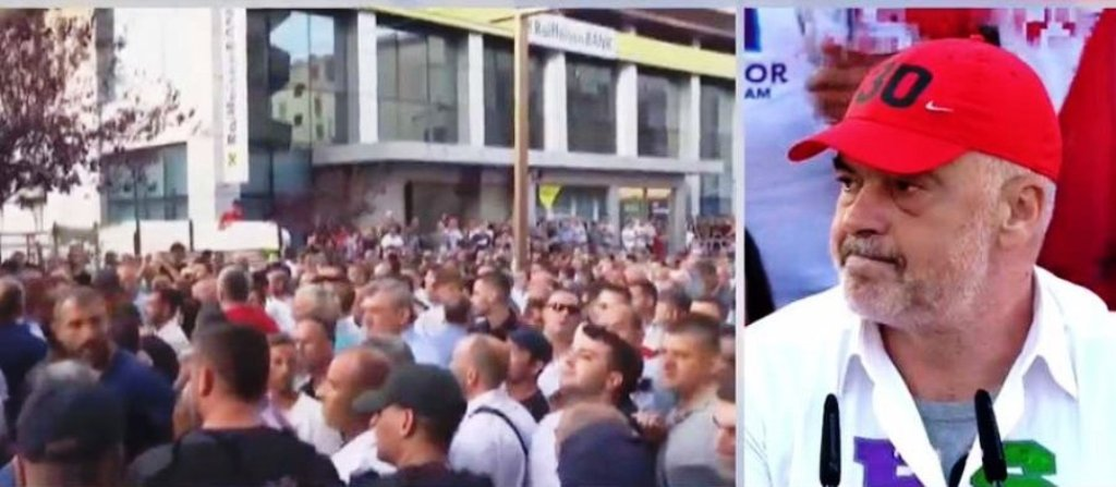 Takimi elektoral i PS-së, protesta në Durrës, simpatizantët e PD përplasen me Policinë