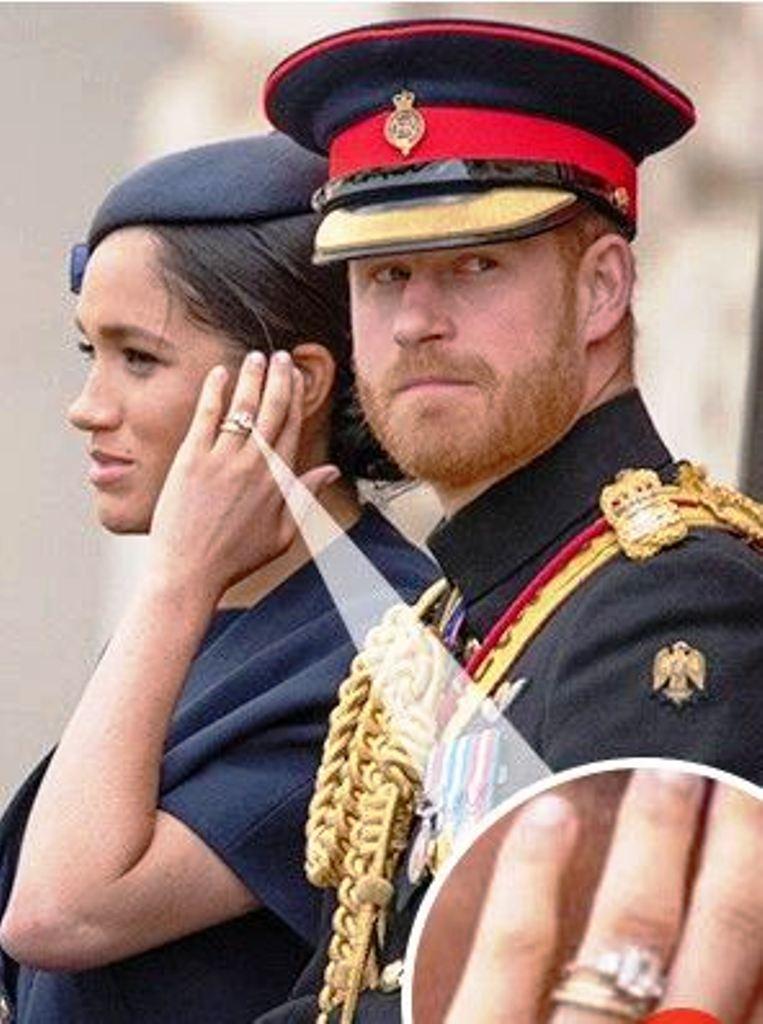 Meghan me unazë THIRD që ra menjëherë në sy të publikut