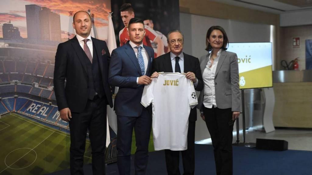 """Reali prezanton Joviç, Barça """"kundërpërgjigjet"""" me Griezmann"""
