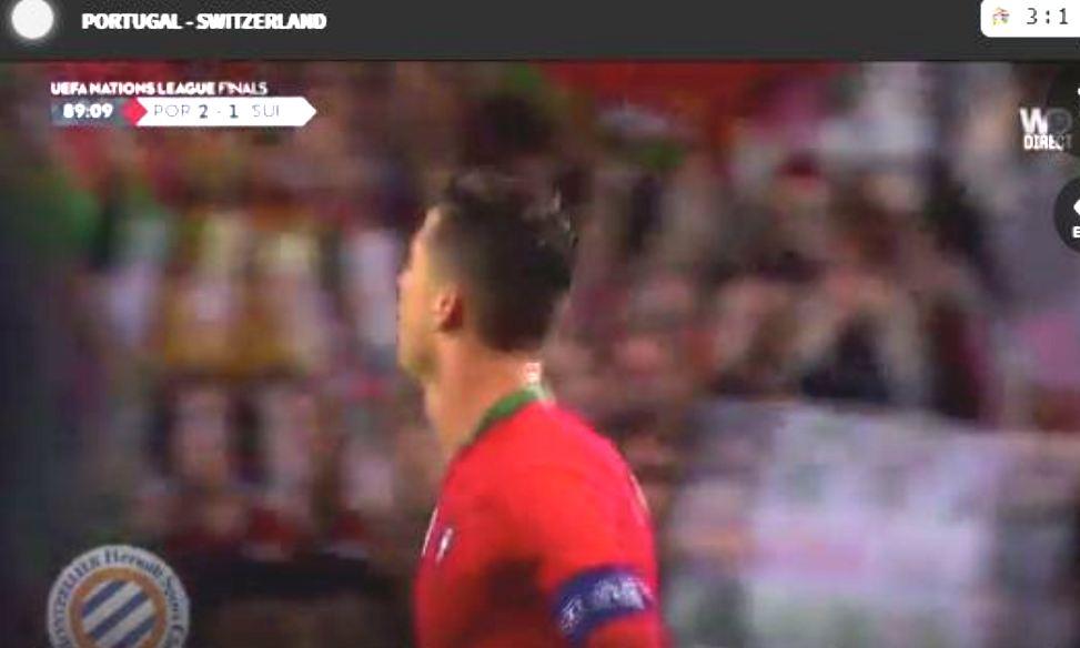 Tripleta e Ronaldos çon Portugalinë në finalen e Ligës së Kombeve