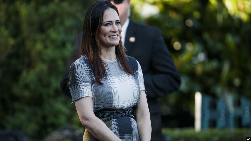 Stephanie Grisham emërohet Sekretarja e Shypit në Shtëpinë e Bardhë