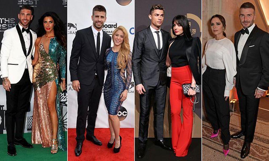 Në dasmën e Sergio Ramos: AC/DC, Shakira e Pique, çifti Bechkam, por jo Ronaldo!