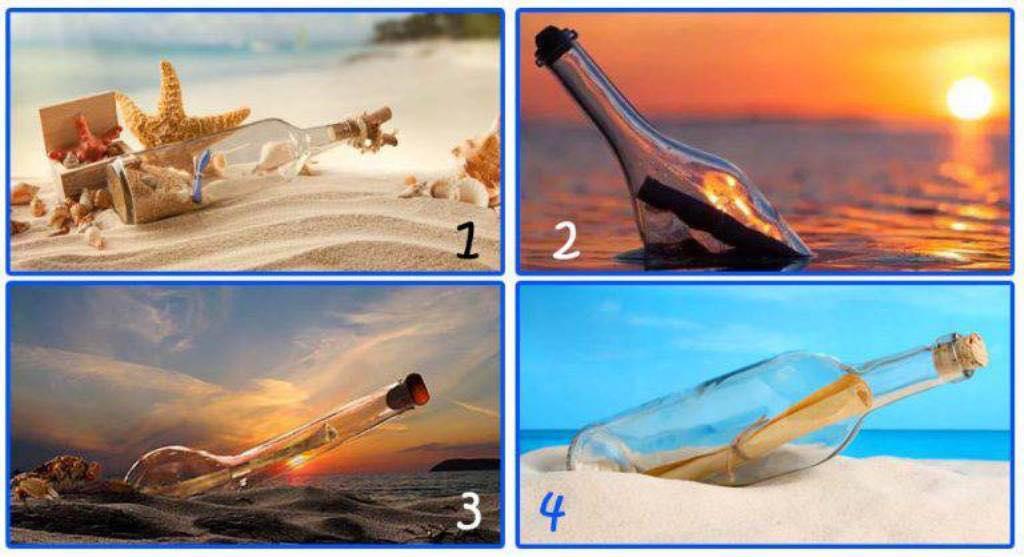 Ndiq intuitën: Zgjidh një nga shishet dhe zbulo këshillat për të ardhmen
