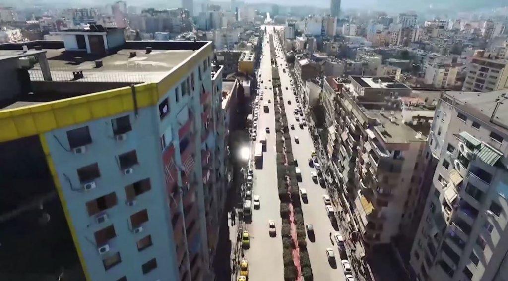 """Erion Veliaj: Do nisim rikonstruksionin e Bulevardit """"Zogu I"""" dhe të fasadave"""