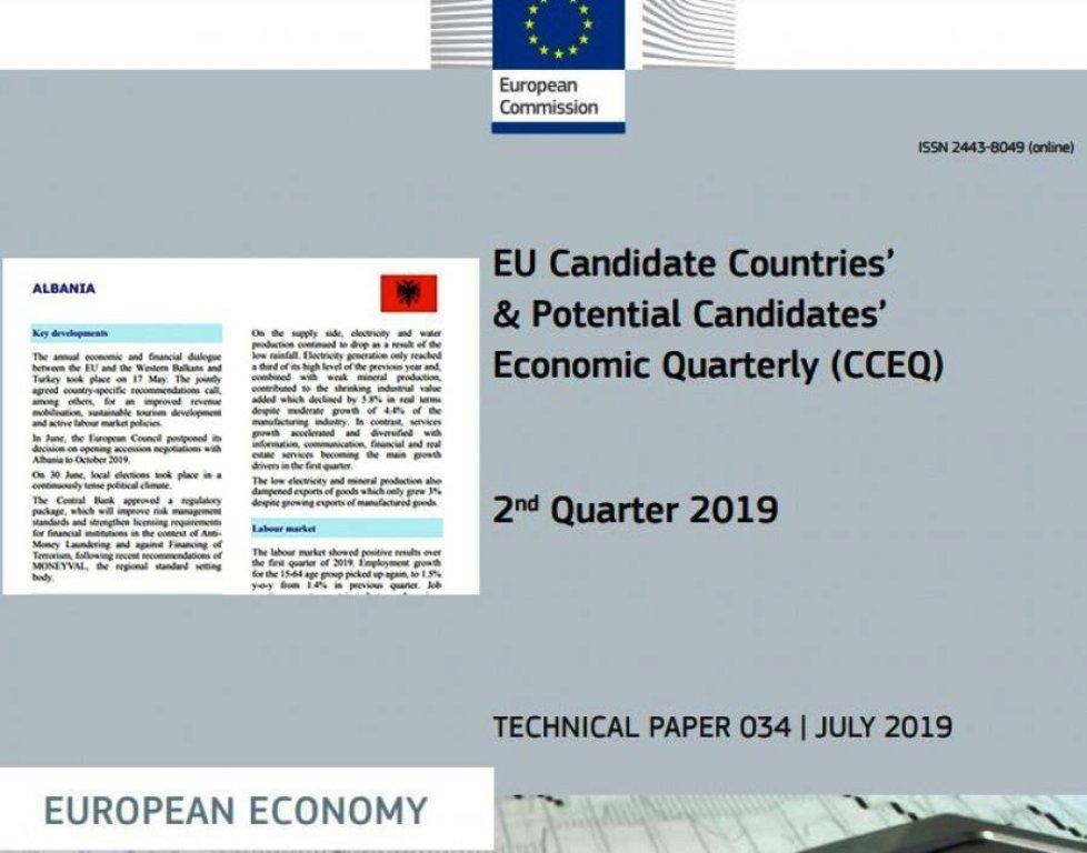 """Ekonomia """"ecën si breshkë"""" në Shqipëri, Komisioni Europian """"fshikullon"""" qeverinë"""