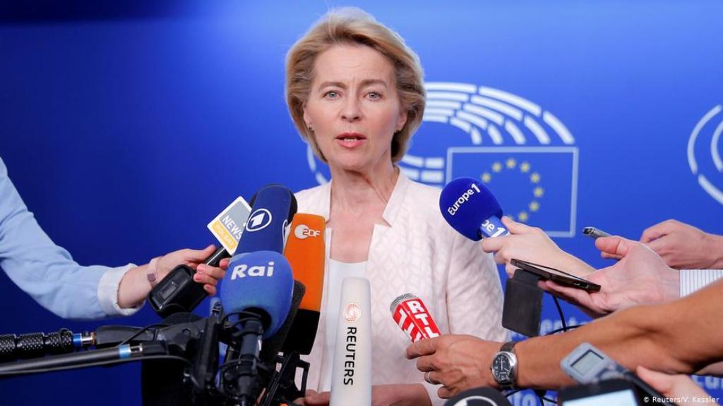 Presidentja e re e KE. Gjermanët nuk besojnë aq tek Ursula von der Leyen