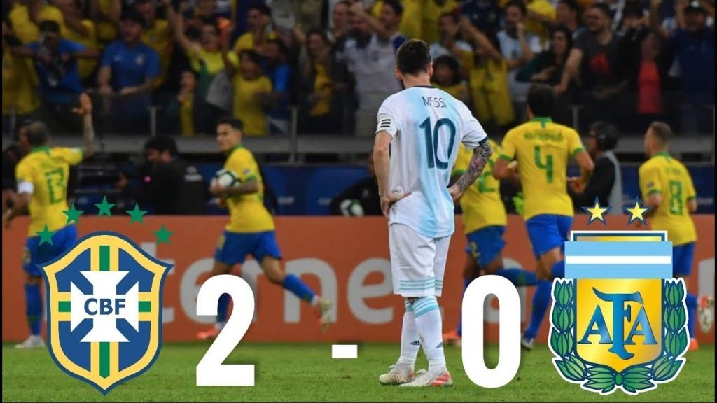 """Humbja 2-0 e Argjentinës me Brazilin, Messi akuza për """"manipulimin"""" e rezultatit"""