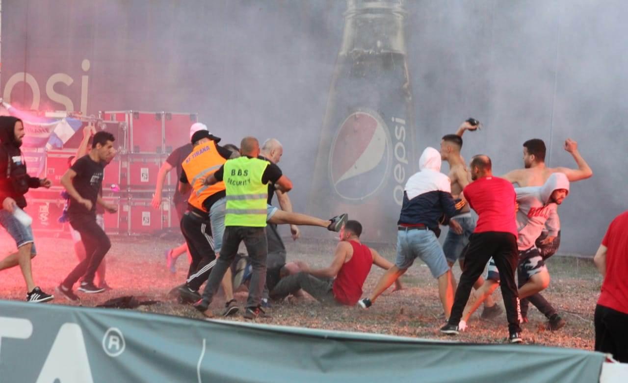 Dhuna e ashpër në ndeshjen Tirana – Partizani cilësohet si akt terrorist
