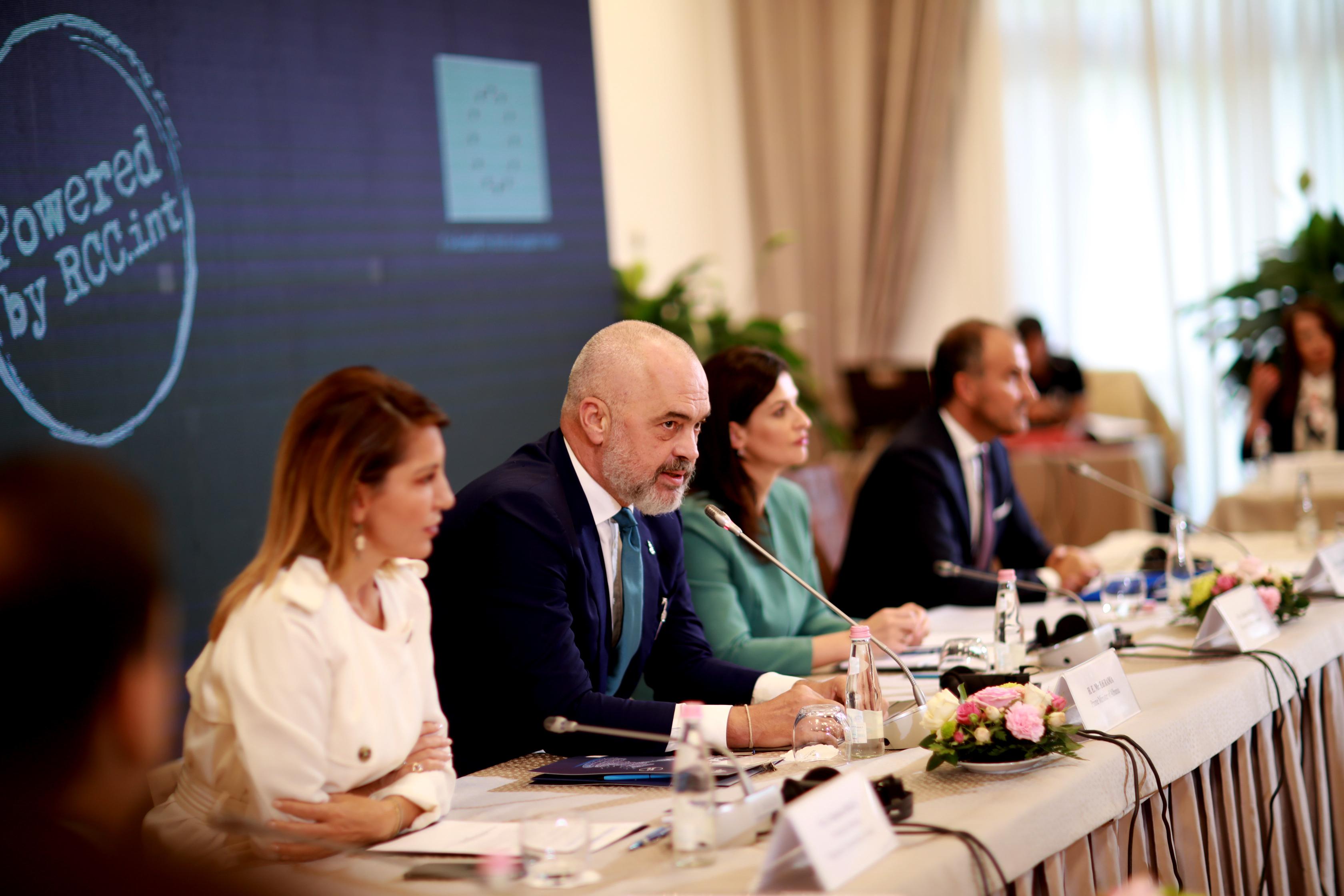 Edi Rama thotë se Bashkimi Europian e ka të domosdoshmëm Ballkanin Perëndimor