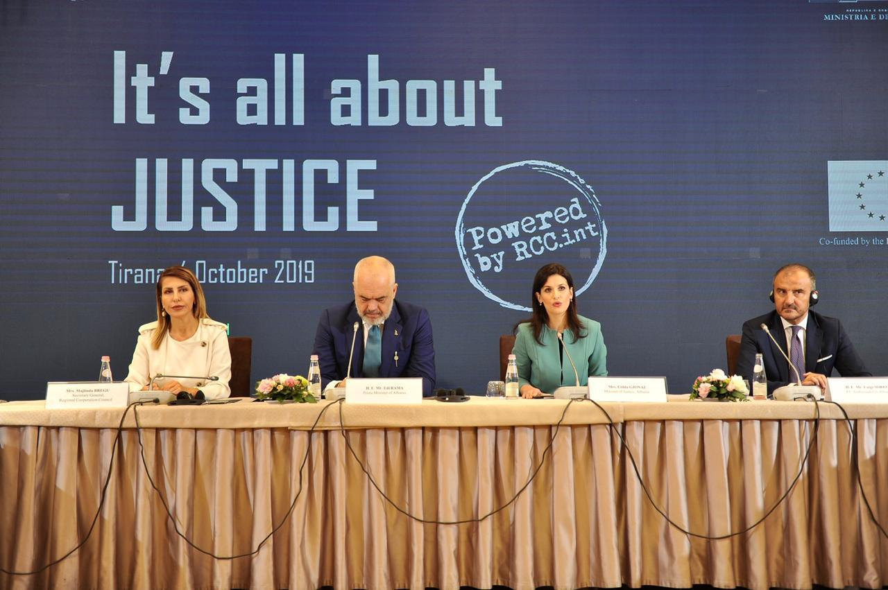 Ministrat e Ballkanit Perëndimor në Tiranë. Soreca: Reforma në Drejtësi për popullin shqiptar, edhe BE-ja krenohet