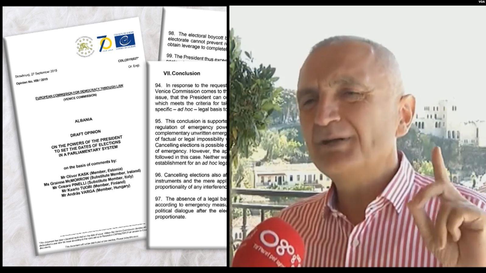 Presidenti Meta, kritika të ashpra Komisionit të Venecias