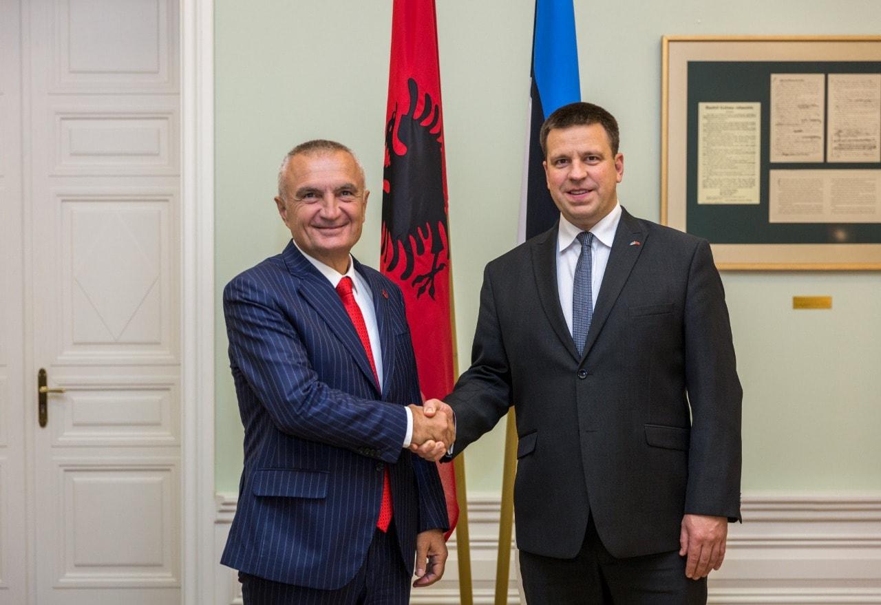 Meta në Estoni, pas takimit me kryeministrin Rates: Kemi besim tek Vendet Balltike për vendimin e 18 tetorit!